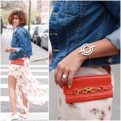 My belt bag + @troprouge = perfect match…way cute!