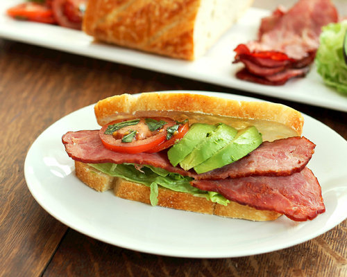 Turkey Bacon And Bruschetta BLT