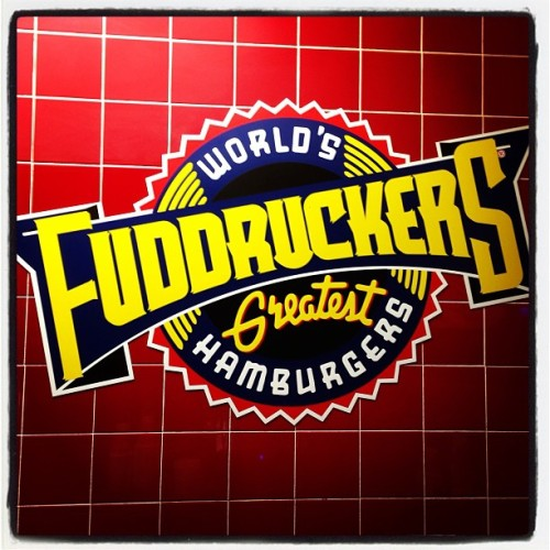 My favorite burger! (at Fuddruckers)