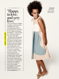divalocity:  First Look: Solange Knowles for InStyle Magazine June 2013 Photographer: Kerry Hallihan Styling: Joan Blades Makeup: Karan Franjola