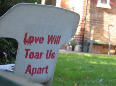 Chair - Love Will Tear Us Apart