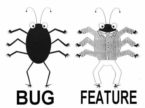 How to transform a bug into a new feature.