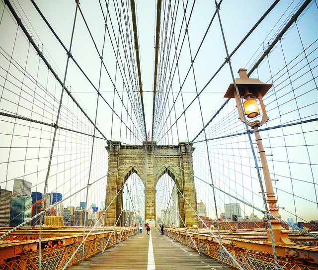 Brooklyn Bridge  | by © Tomasito. | via wanderlust-stricken