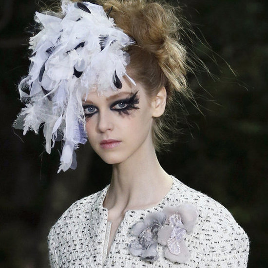 victorianlondres:  Chanel Haute Couture Collection: Makeup
