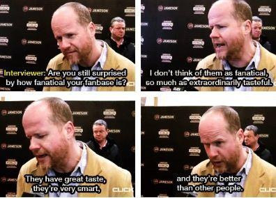 Joss Whedon is amazing