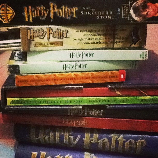 2046258 hours of flashback in 10 seconds of stacking. #HarryPotter