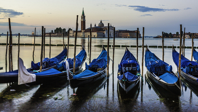 Venice city landscape at sunrise by Valerii9116 on Flickr.