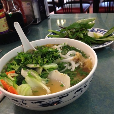 Breakfast ! #work #pho  (at Pho 24)