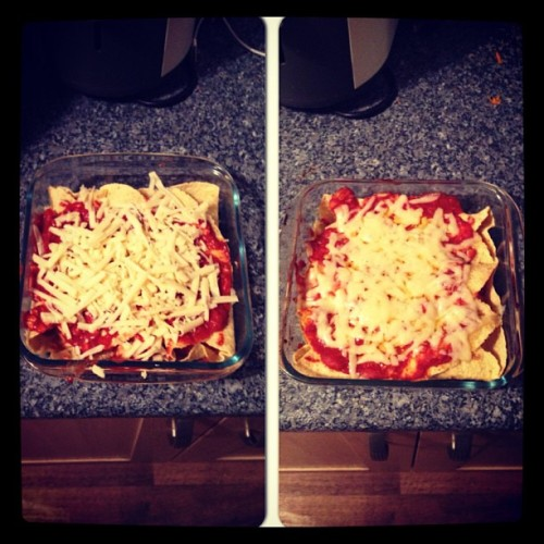 Mmmm enchiladas for tea #instacollage #tastyshit