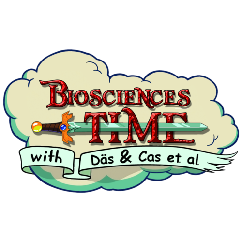 A logo inspirated in Adventure time for my blog: http://thebiosciencestimes.blogspot.com.es/