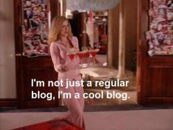 "thecraziie:  ""I'm not a regular blog, I'm a cool blog.""Follow http://thecraziie.tumblr.com/"