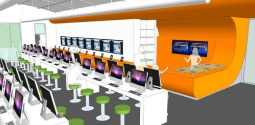 infoneer-pulse:  America's first bookless public library will look 'like an Apple Store'  Bexar County, Texas says that it will open the first 100 percent digital public library system in the country, unveiling plans for its first location this past week. The plan has been in the works for a while, headed up by Bexar County Judge Nelson Wolff, who says he was inspired to create a digitally native library while reading Walter Isaacson's biography of Steve Jobs.   » via thisistheverge