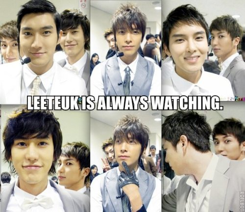eunbeautifulhae:  Leeteuk, you creep;D  >u< cute~♥