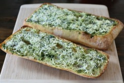 sweetsrsmitty:  Basil Butter Garlic Bread