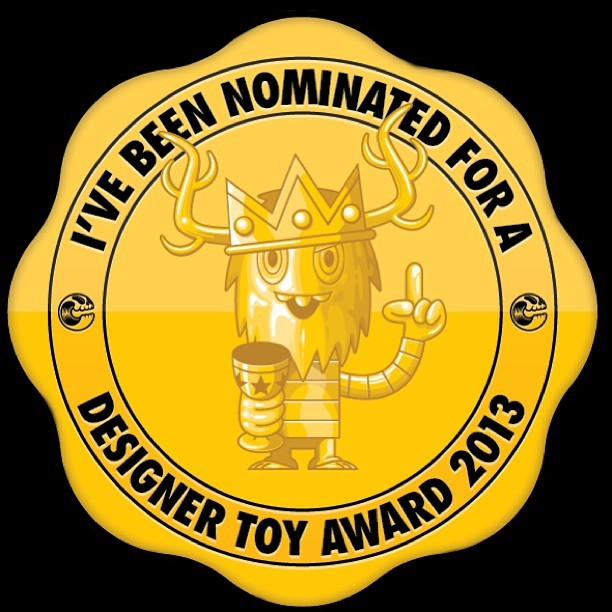 WeKillYou nominated for Best Resin on the DTAs! Go vote for them! wekillyou:  We Kill You's Vishnu Paramata has been nominated for a designer toy award in the Best Resin category! Please take a moment of you busy day to go vote!! Designertoyawards.com/categories/8 (at We Kill You Studios)