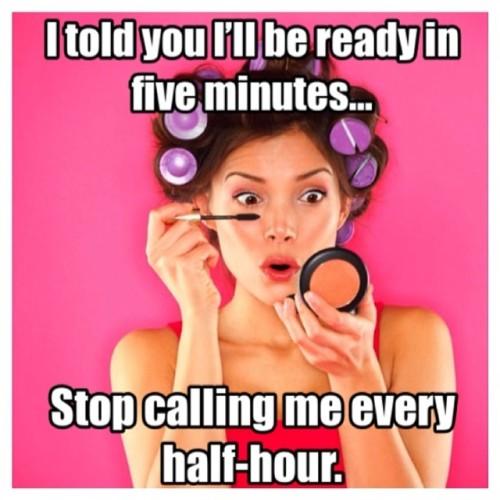 • Quote of the Day • #WomenQuotes #WomenHumor #Quote #Women #Girls #makeup #fun #girly #norush #yolo