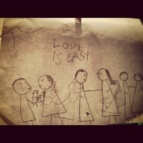 The best love note EVER!! :)) #zuristarlovers #loveiseasy