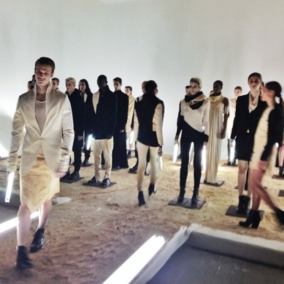 The future is now @odd_nyc F/W 13. #NYFW  (at Industria Superstudio)