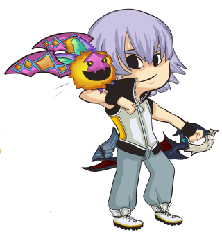 thedutchesse:  A wild Riku appeared! deviantArt :: Shop
