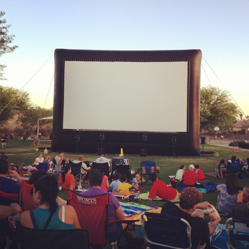 Wreck It Ralph in the park.
