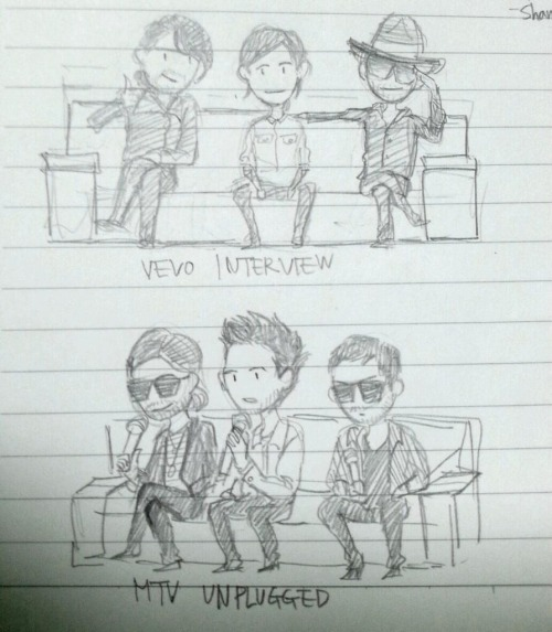 tomzdot:  Thirty seconds to mars doodles!