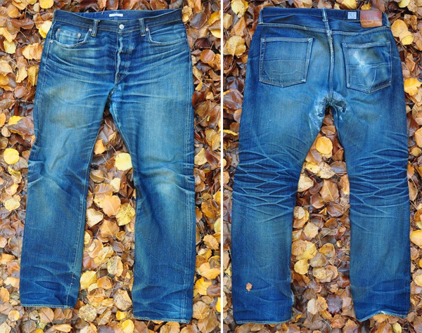 rawrdenim:  Fade Friday – Eternal 811s (2 Years, No Washes) Check out our new fade friday! To see more fade pics of this Eternal denim go to rawrdenim.com.