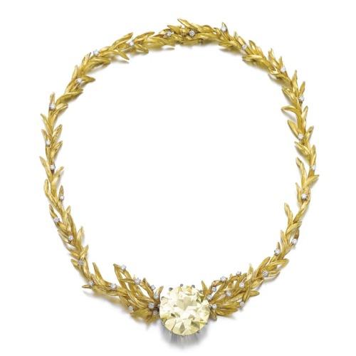 necklace fashion history vintage fashion vintage jewelry jewelry jewellery 1960s bolin gold diamonds yellow diamond sotheby& 039;s