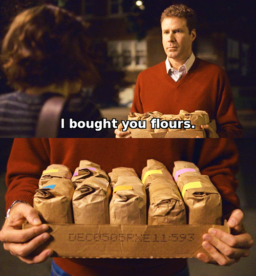 Stranger than Fiction.  One of my favoritest films.
