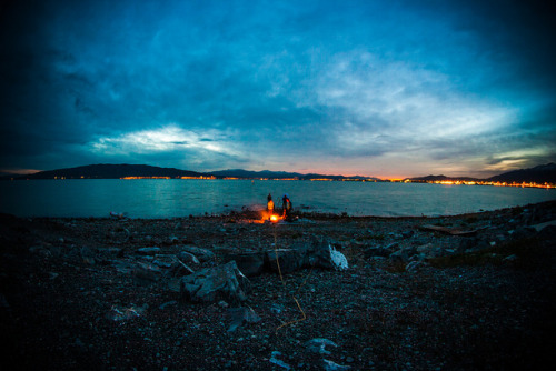 Fire at Utah Lake on Flickr.Warm weather means not freezing to death while shooting. Gotta love it.