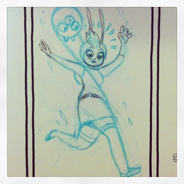joequinones:  Fionna, what's wrong with your head?
