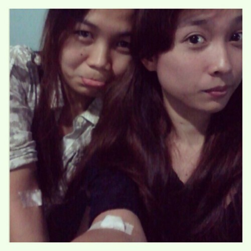 Eh kase first time ko. T_T sakit. #eyebags #injection #yapclinic