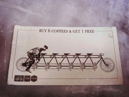 loyalty card for TAP Coffee on Wardour Street on Flickr.