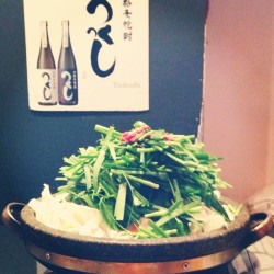 #hotpot!!! you wish you could smell it! (at Hakata Ton Ton)