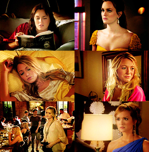 Gossip Girl as a Modern FairytaleBlair Waldorf in 'Beauty and the Beast'Serena van der Woodsen in 'Sleeping Beauty'Ivy Dickens in 'Cinderella'