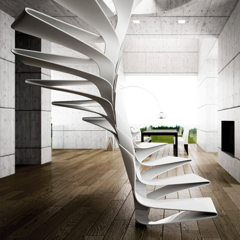 userdeck:  Folio staircase.
