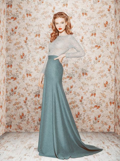 Up and coming Russian Designer's dress designs.Ulyana Sergeenko.