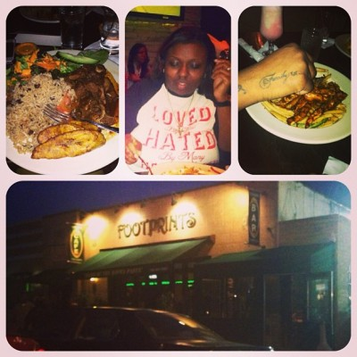 Treated my big sis to a Mother's Day dinner at Footprints. 🍴🍛 (at Footprints Cafe)