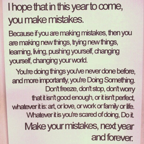 A little late for new year inspiration, but 2013 is young, which is a special year to us as JUNKFUNK TURNS 10 YEARS OLD! (Plus, who can say no to a lovely, optimistic Instagram?)