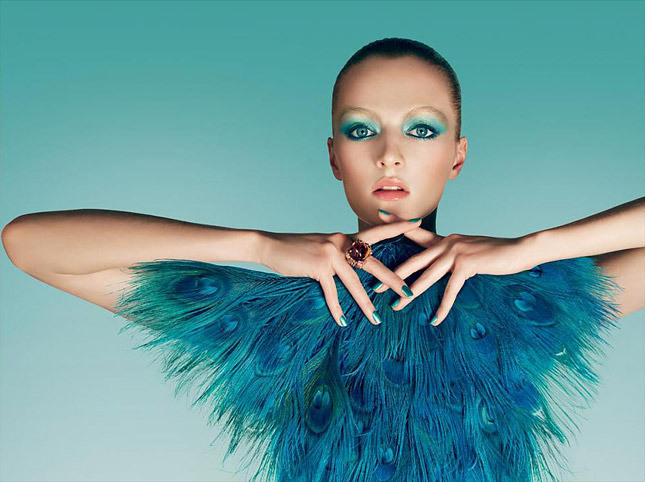 "stormtrooperfashion:  Dior S 2013: ""Birds of Paradise"" Campaign"