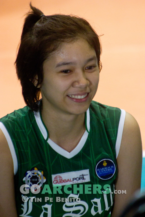 Mika Reyes - UAAP Season 75 Player of the Game - DLSU vs AdU | December 8, 2012  Her very first Player of the Game