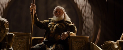 Odin has better throne posture than this.
