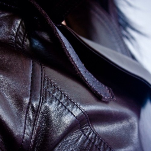 It's in the details. The petite leather jacket by #the16thbar available at www.the16thbar.com #petite #leather #moto #jacket #details #editorial #badass #couture