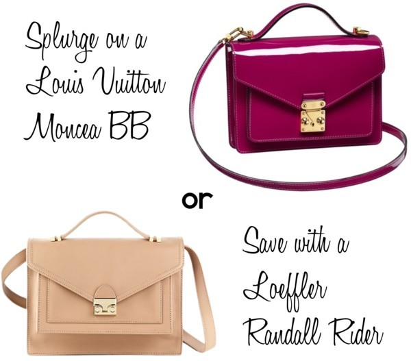Save or Splurge on… Louis Vuitton Moncea BB Save or Splurge on… Louis Vuitton Moncea BB by mallhaciel featuring leather crossbody handbagsView Post