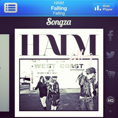 Absolutely loving @haimtheband !!!!!!! Kind of obsessed after 3 songs…#falling