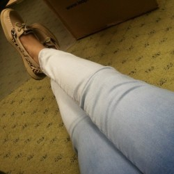 Favorite jeans ever:)