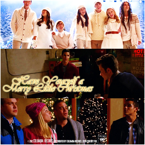 4x10 Glee, Actually | Have Yourself a Merry Little Christmas Requested Alternative Cover