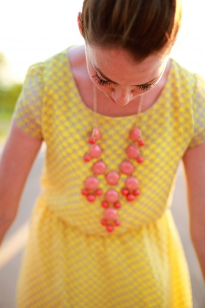 helterandskelter:  Yellow Sun Dress