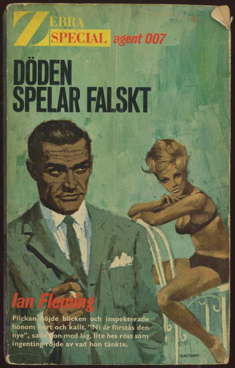 james bond diamonds are forever sean connery swedish books paperback 1960s