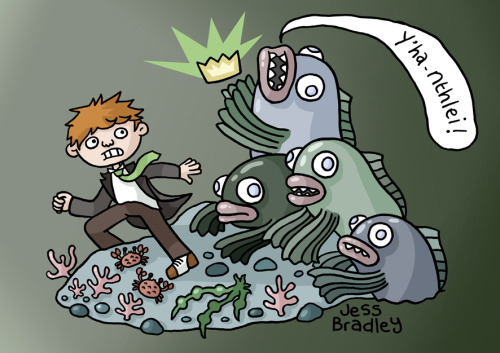 Escape from Innsmouth!