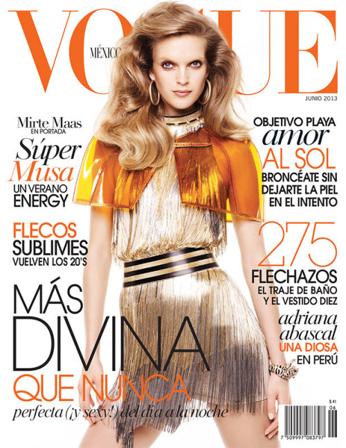 Mirte Maas for Vogue México June 2013